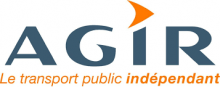 Logo de AGIR Transport